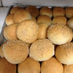 Dinner rolls with or without sesame