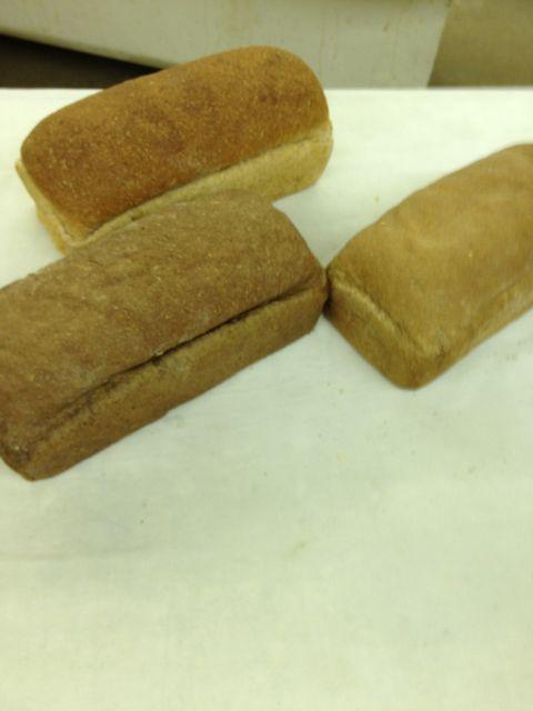 Wheat, pumpernickel, seedless rye