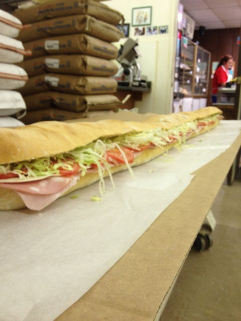 Six-foot sub
